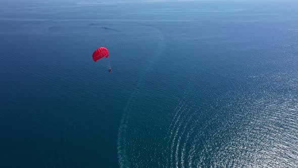 Cover Image for Parasailing On The Mediterranean Shore