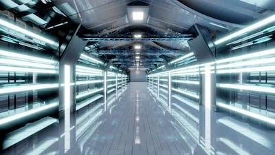 Science Fiction industrial alien architecture
