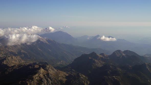 Thumbnail for Flying Over the Mountain Range