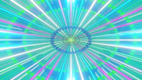 Rhythmic Color Lines