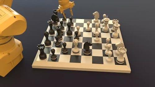 Modern Technology, Robot Playing Chess