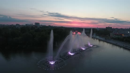 Thumbnail for Music Fountain On The River