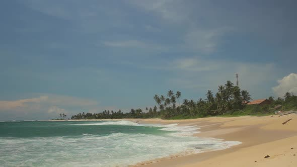 Thumbnail for Sri Lanka Ocean Seascape Sea Shore. Landscape.
