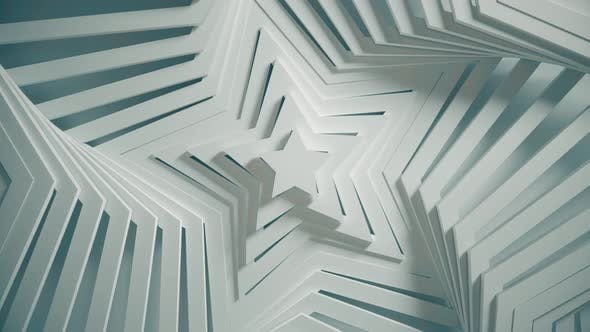 Thumbnail for Abstract Star Pattern with Offset Effect