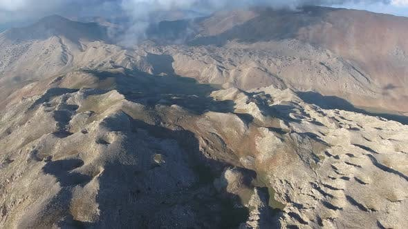 Thumbnail for Treeless Barren Curved Rugged Mountain Slopes