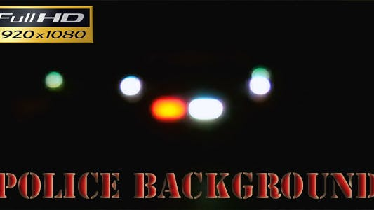 Police Background Full HD