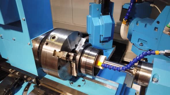 Thumbnail for Internal Grinding Machine in the Process