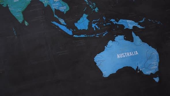 Thumbnail for Australia World Map