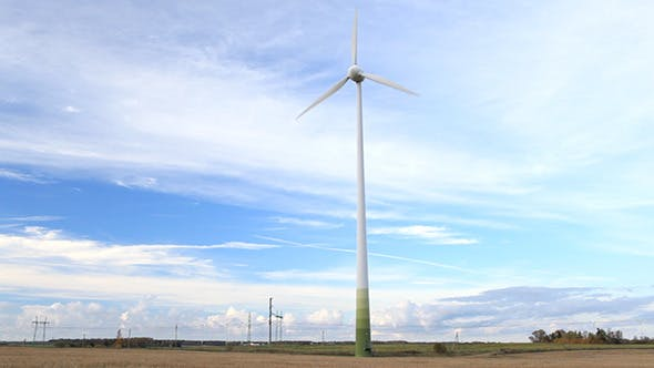 Thumbnail for Wind Turbine In the Field
