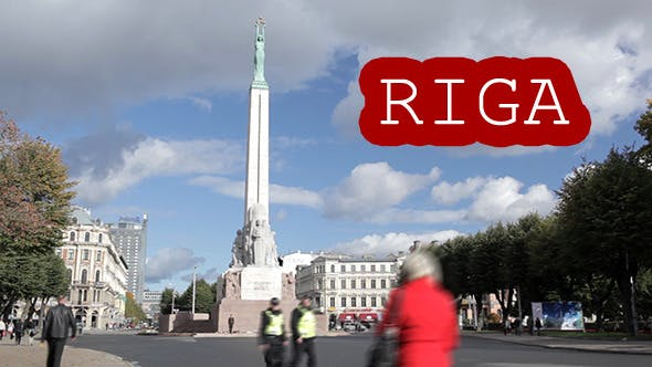 Thumbnail for Time Lapse of The Freedom Monument in Riga, Latvia