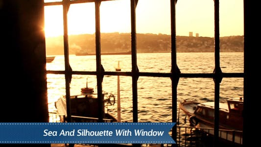 Cover Image for Mosque Window Silhouette