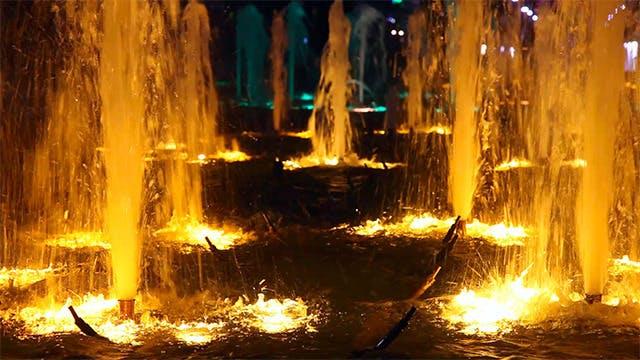 Thumbnail for Light colour fountain