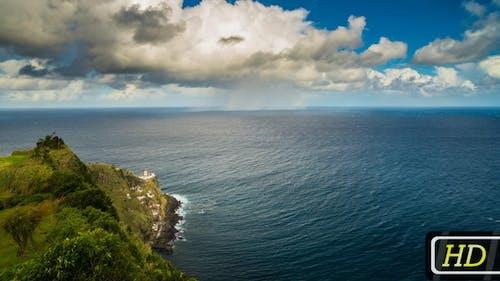 Panorama von den Azoren