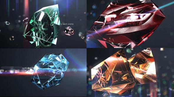 Diamonds Photo Slider/Opener