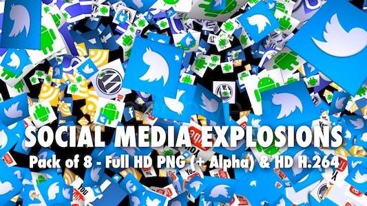 Thumbnail for Social Media Explosion - Pack of 8