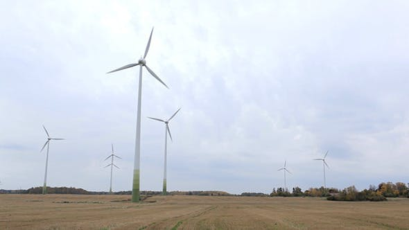 Thumbnail for Many Wind Turbines in the Field