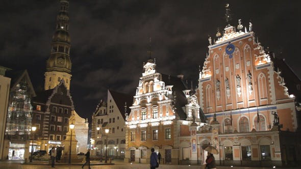 Cover Image for Old Riga At Night