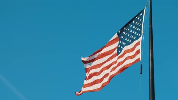 Thumbnail for Video of United States Flag Flying Proud