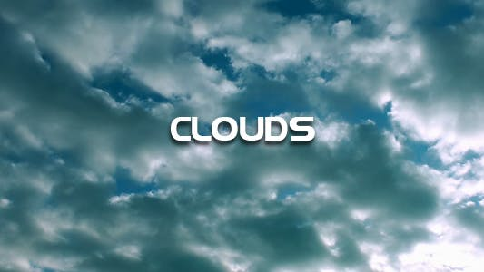 Thumbnail for Clouds Time Lapse 2