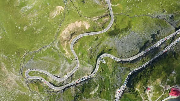 Thumbnail for View Of Famous Romanian Road Transfagaras 6