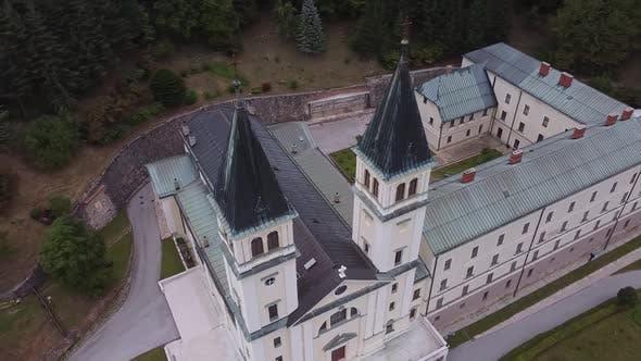 Thumbnail for Catholic Franciscan Monastery With Church. Kraljeva Sutjeska , Bosnia And Herzegovina V3