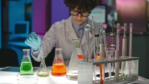 Thumbnail for Female Scientists Working with Solutions