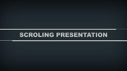 Scroling Presentation