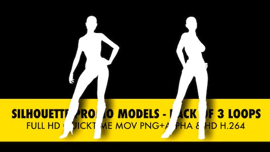 Thumbnail for Silhouette Models - Pack Of 3 Loops
