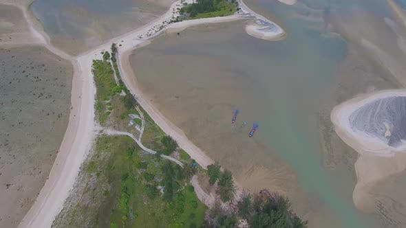Thumbnail for Aerial Video of Cape and Sea in Khao Lak