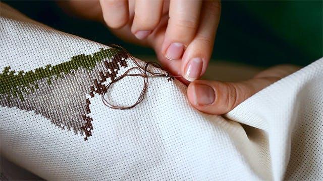 Thumbnail for Needlework.