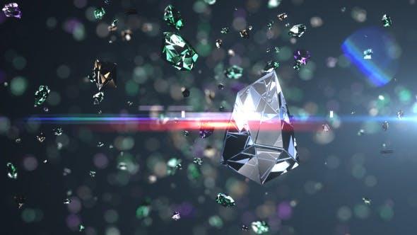 Diamonds Explosion Logo Reveal