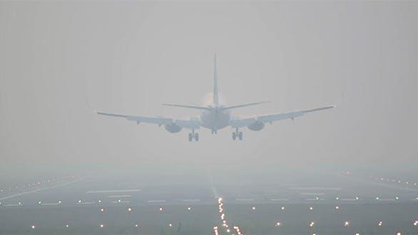 Landing In The Mist