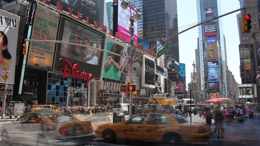 Cover Image for Times Square Time Lapse  Full HD