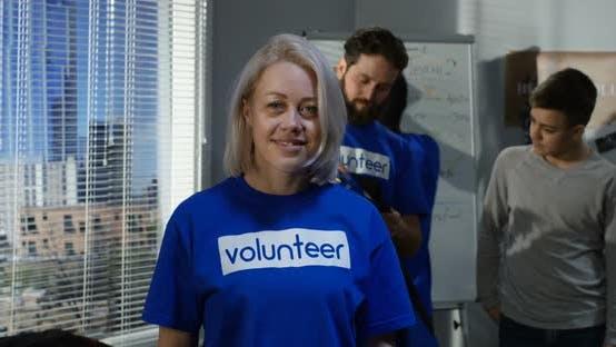 Portrait of Female Volunteer