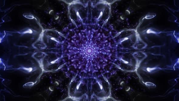 Thumbnail for Disco Blue Particles Kaleido