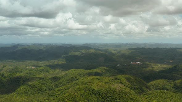 Thumbnail for Siargao Island with Hills and Mountains, Philippines