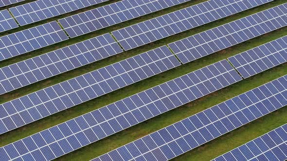 Thumbnail for Solar Power Station Aerial View