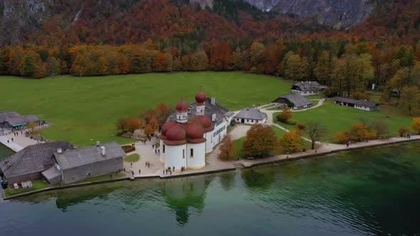 Saint Bartolomew Church At The Konigsee Lake