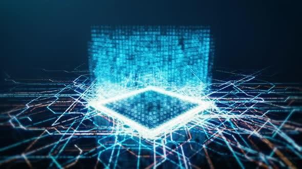 Thumbnail for Binary CPU on Electronic Board