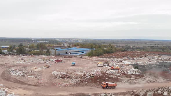 Thumbnail for Global damage environmental. Construction debris. Pollution concept
