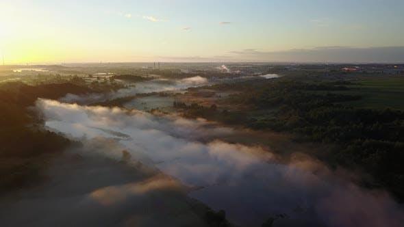 Thumbnail for Fog Over The River Western Dvina