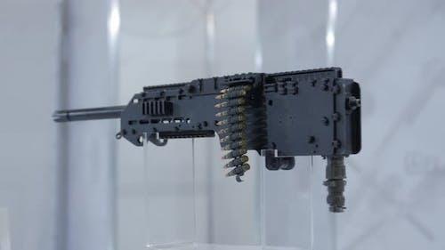 Waffe Maschinengewehr