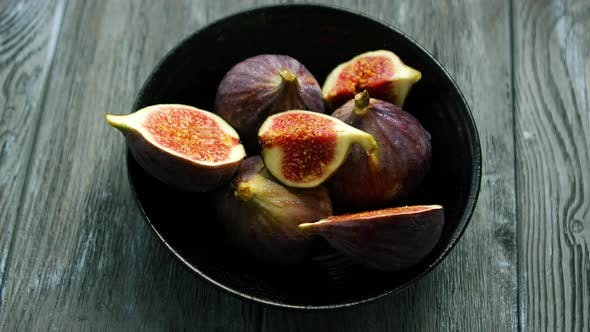 Thumbnail for Bowl Full of Cut Figs