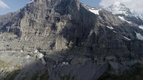 Eiger North Face in the Bernese Alps