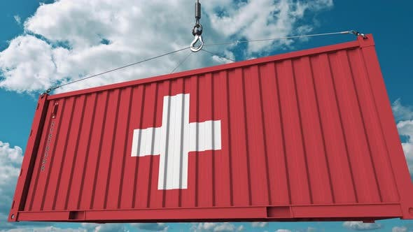 Thumbnail for Container with Flag of Switzerland