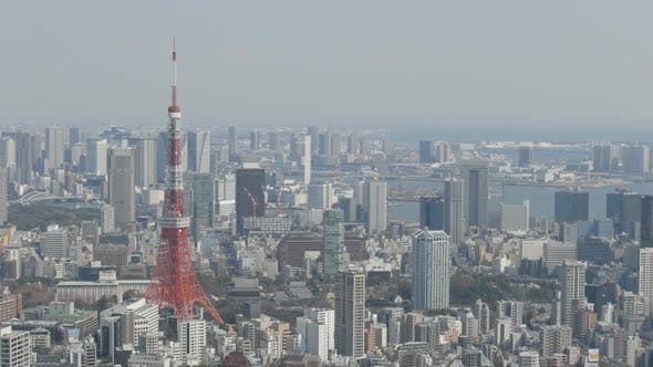 Thumbnail for Skyline with Tokyo Tower
