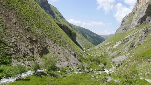 Tranquil idyllic scene of Brod National Park, Prizren, Kosovo