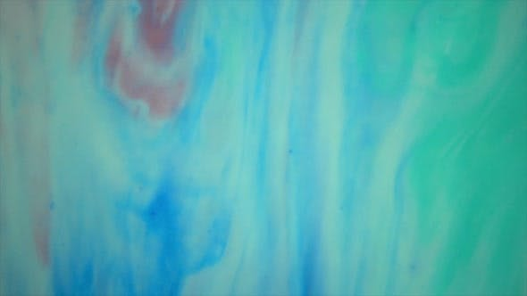 Thumbnail for Aqua Marble Paint In Motion