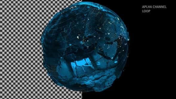 Thumbnail for Digital Metal Globe Alpha