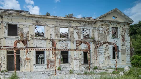 Thumbnail for dubrovnik bombed building war balkans conflict